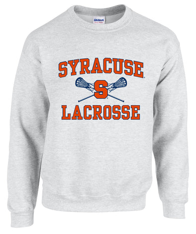 Lacrosse Stick Crew Neck Sweatshirt