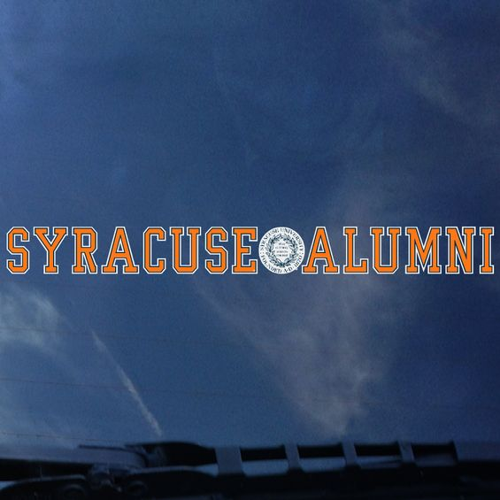 Colorshock Syracuse Alumni Decal