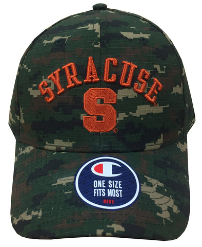Syracuse Champion®  Dark Digital Camo Adjustable Hat