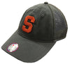 "Syracuse Champion® ""Block S"" Trucker Mesh Hat"