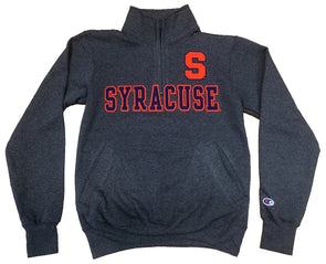 Syracuse Champion® Powerblend 1/4 Zip Jacket