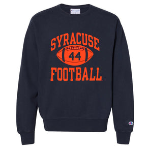 Champion 1 Color Heavyweight Reverse Weave Football Crew Neck Sweatshirt