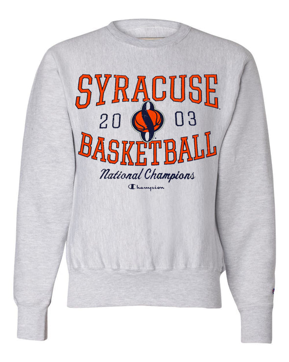 Champion Syracuse Basketball 2003 National Champions Crew Neck Sweatshirt