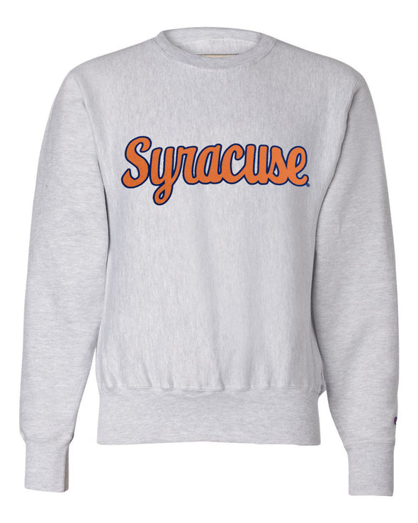 Champion Heavyweight Reverse Weave Script Syracuse Crew