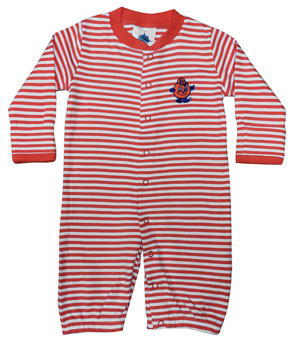 Syracuse Infant Striped Convertible Onesie