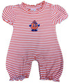 Syracuse Infant Striped Bubble Romper