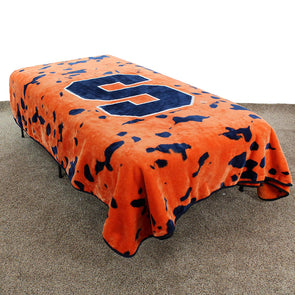 College Covers Syracuse Raschel Knit Blanket