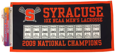 2009 Syracuse Lacrosse National Championship Banner