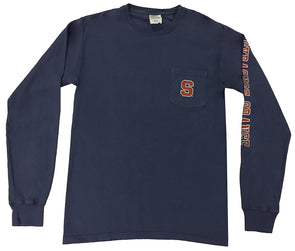 "Comfort Wash ""Block S"" Long Sleeve"