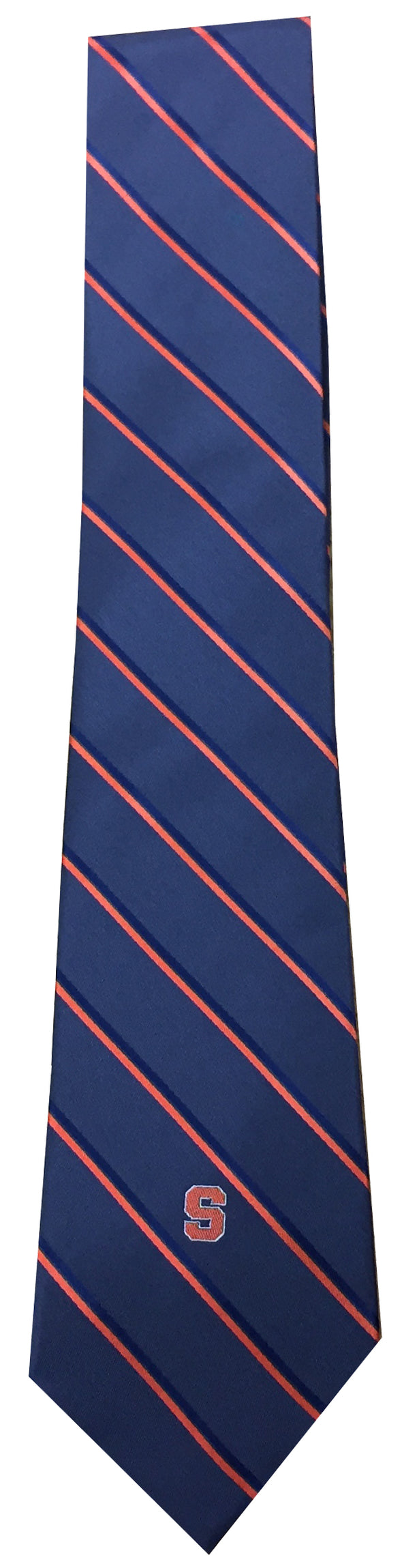 "Donegal Bay Grey Striped ""Block S"" Tie"