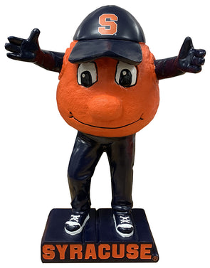 Evergreen Syracuse Otto The Orange Mascot Statue