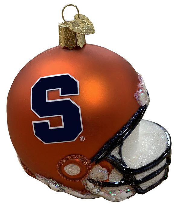 Old World Christmas Syracuse Football Helmet Ornament