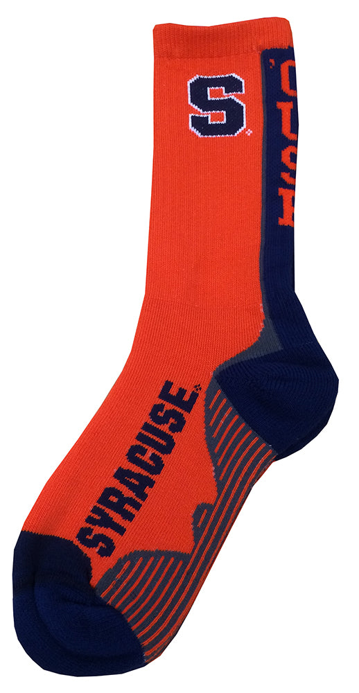 syracuse-team-vortex-socks