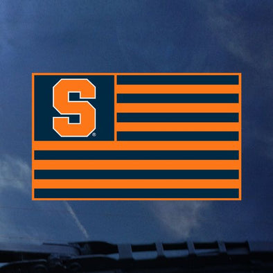 Colorshock Syracuse Flag Decal