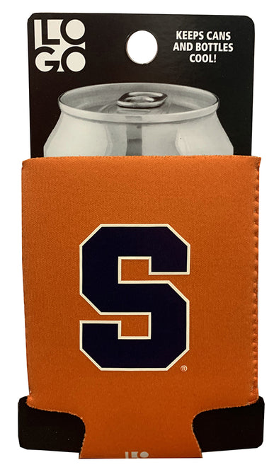 Logo Syracuse Can Koozie