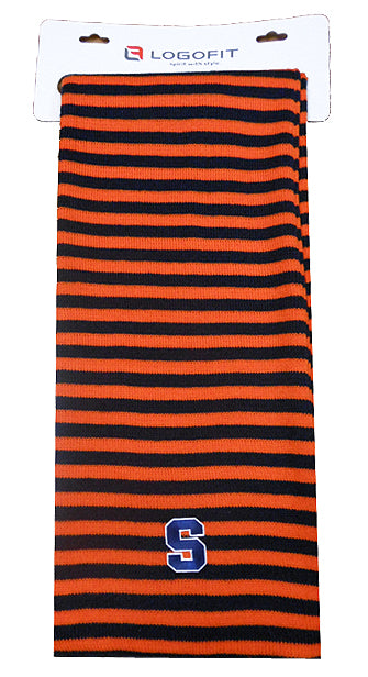 LOGOFIT Micro Rugby Stripe Scarf