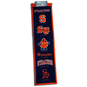 Winning Streak Wool Banner With Classic Logos