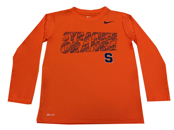 Nike Youth Dri-Fit Long Sleeve