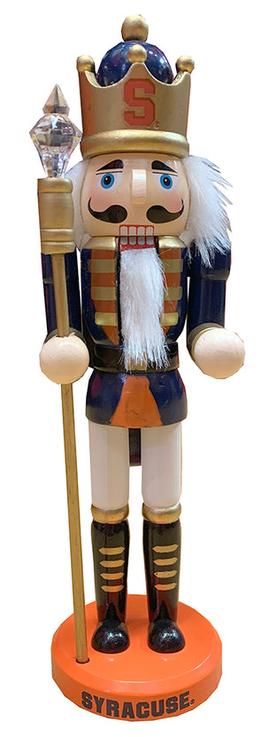 "Spirit Syracuse 11"" Wooden Nutcracker"