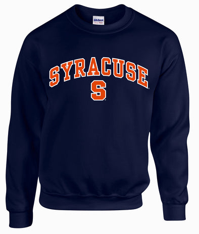"Syracuse ""Block S"" Crew Neck Sweatshirt"