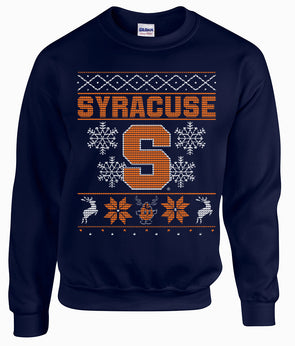 Syracuse Holiday Crew Neck Sweatshirt