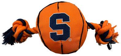 Pets First Basketball Squeaky Dog Toy