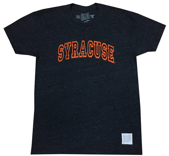 Retro Brand Distressed Syracuse T-Shirt