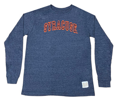 Retro Brand Distressed Syracuse Long Sleeve