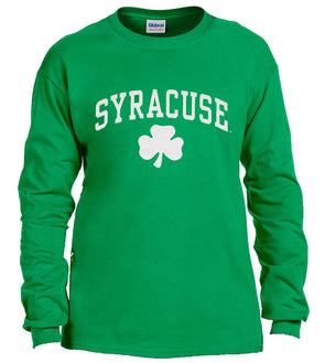 Green Shamrock Long Sleeve