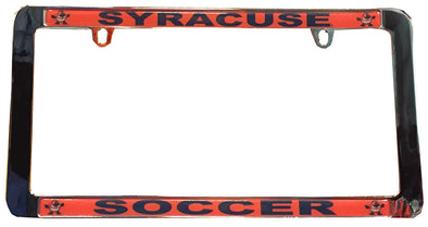 Stockdale Syracuse Soccer License Plate Frame