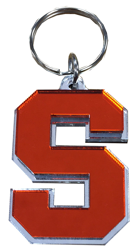 "Stockdale Die Cut ""Block S"" Keychain"