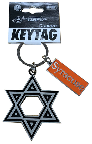 Spirit Star of David Keychain