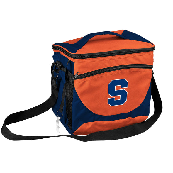 Logo Syracuse 24 Can Cooler