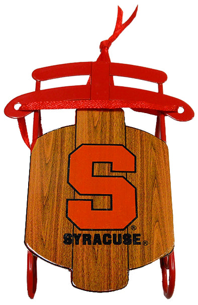 Syracuse Sled Ornament