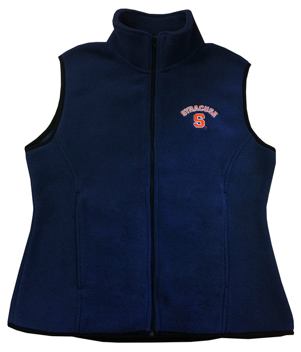 Womens Full Zip Fleece Vest