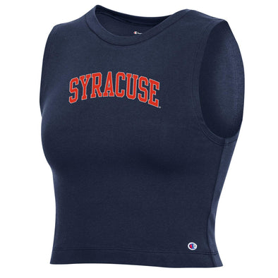 "Champion Women's ""Syracuse"" Ultimate Fan Crop Top"