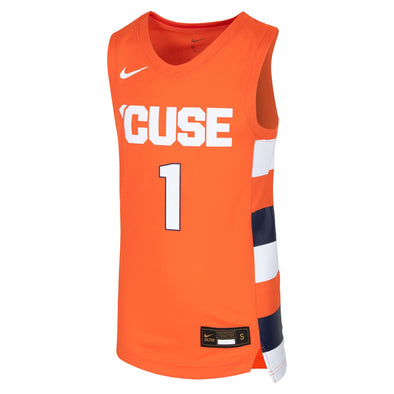 Nike Youth #1 Replica Syracuse Basketball Jersey