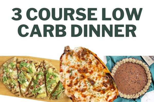 3 Course Low-Carb Dinner for Valentine's Day