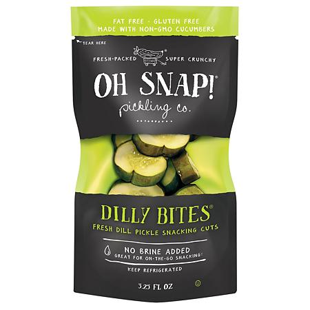Oh Snap Pickles - Dilly Bites