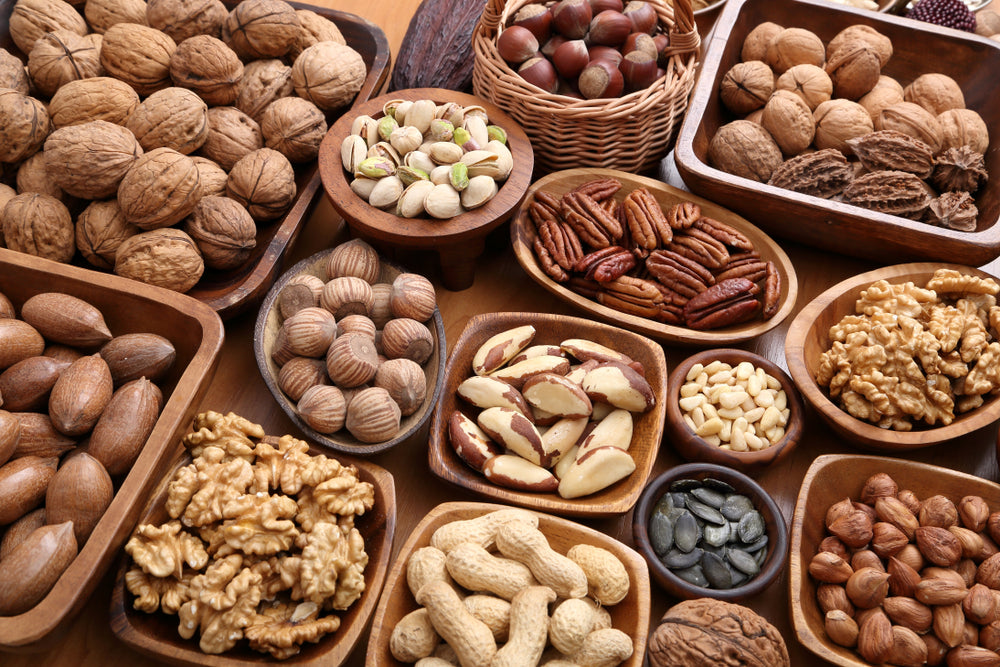 Assorted Nuts with High Protein