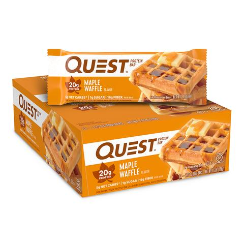 Maple Waffle Quest Bars