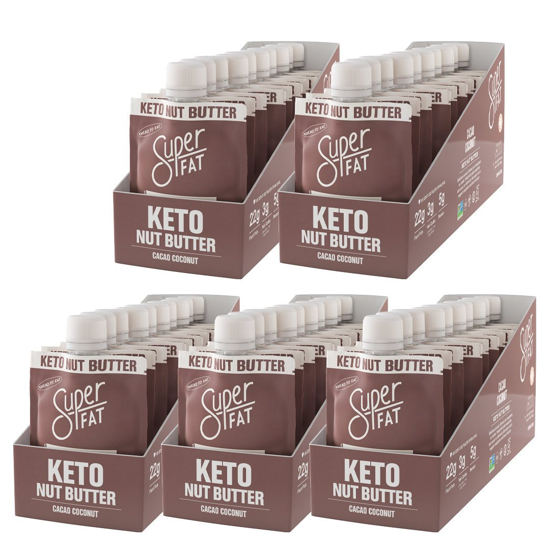 SuperFat Cacao Coconut Nut Butter Bundle (50 pouches)