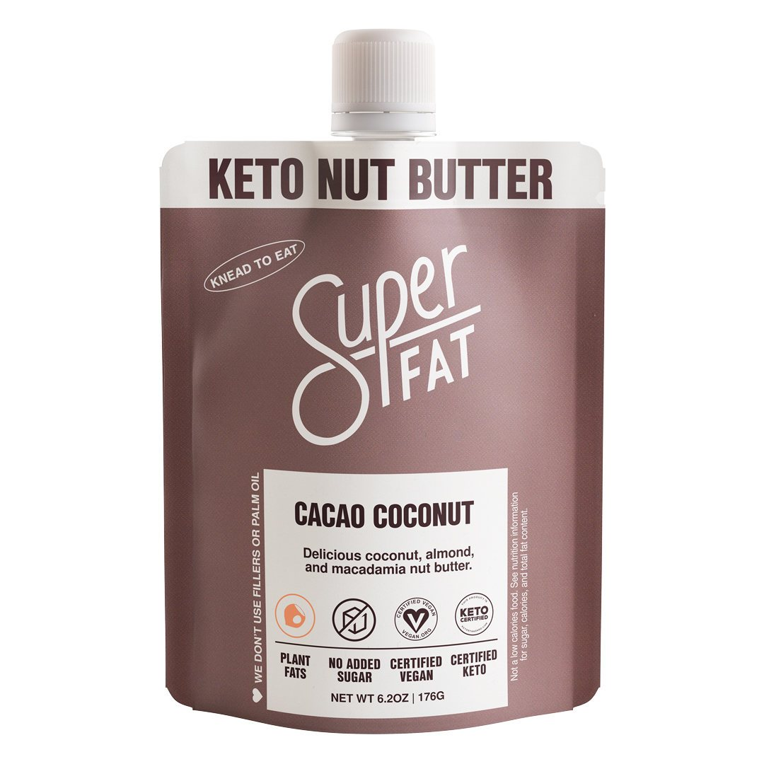 SuperFat Cacao Coconut - 6.2oz Pouch - LARGE SIZE (6 servings)