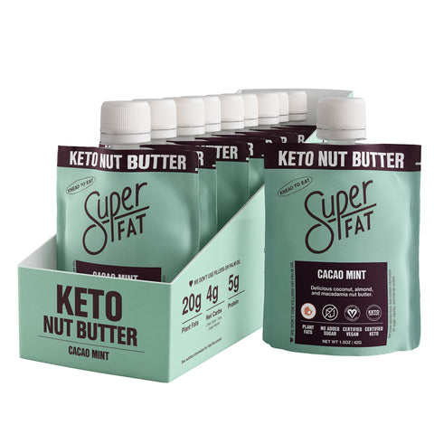 SuperFat Cacao Mint Nut Butter - (Box of 10)