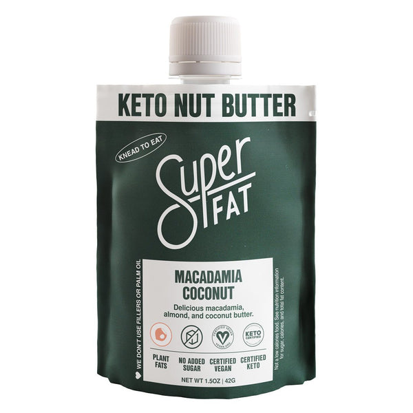 SuperFat Macadamia Coconut Nut Butter Bundle (50 Pouches)