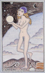 Nude Nymph with Orb