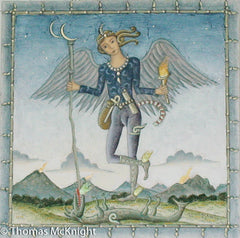 Angel with Dragon