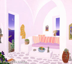 Aegean Room with Arches