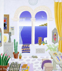 Aegean Studio with Arches