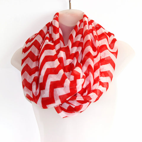 Thin Infiniti Scarf - Chevron (more colours available)